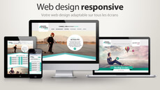 Intégration webdesign homepage sur site Wordpress